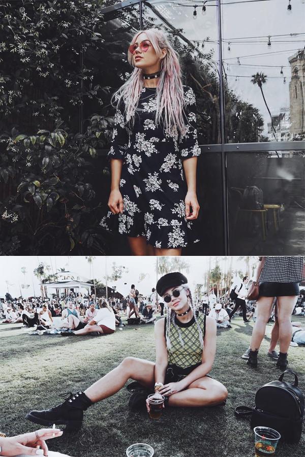 Madelene Billman Coachella 2017