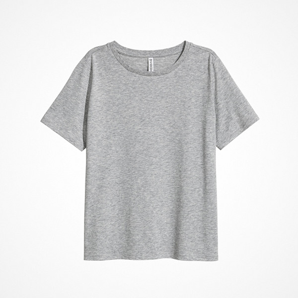H&M t-shirt i bomullsmix