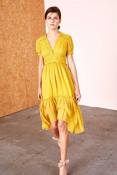 Inspiration tunna gula klänningar