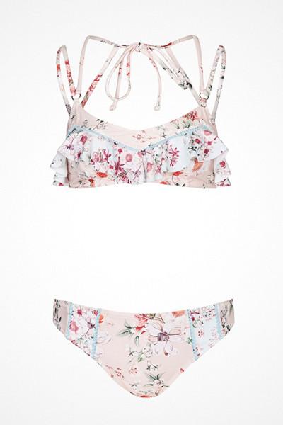 Topshop bikini med blommor