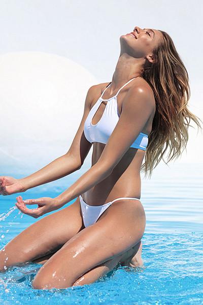 Chiquelle x Swimwear vit bikini