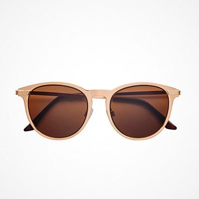 H&M guldfärgade solglasögon