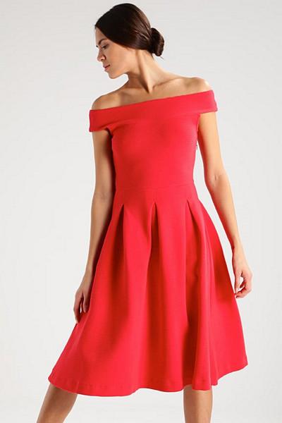 mint&berry röd klänning