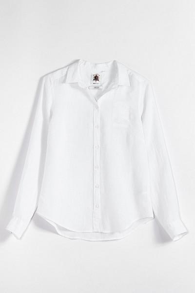 Gina Tricot klassisk linneskjorta