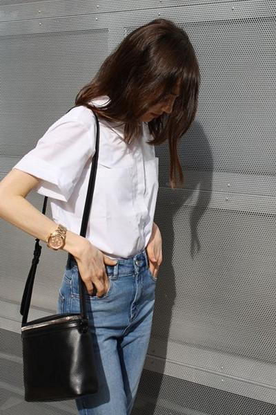 Inspiration kortärmad skjorta