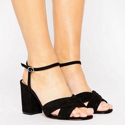 ASOS svarta sandaler