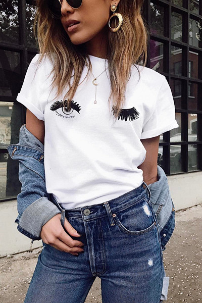 Inspiration statement tee från @littleblackboots