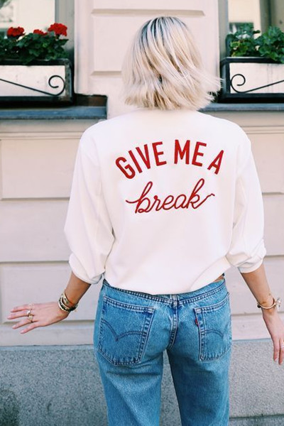 Inspiration statement tee via Pinterest