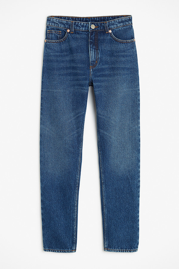 Monki mom-jeans med hög midja