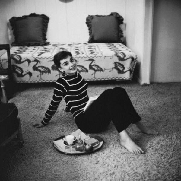 Audrey Hepburn inspiration casual