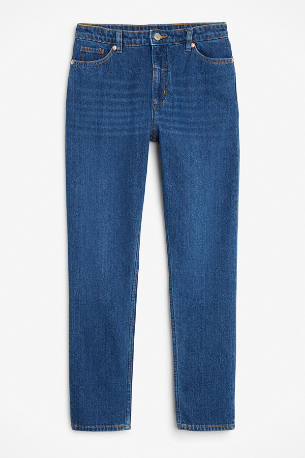 Monki hög-midjade mom jeans
