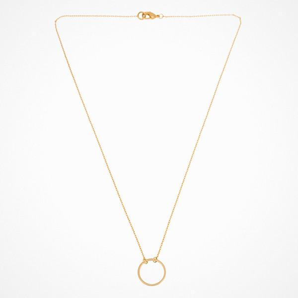 Mint By Timi guldfärgat halsband