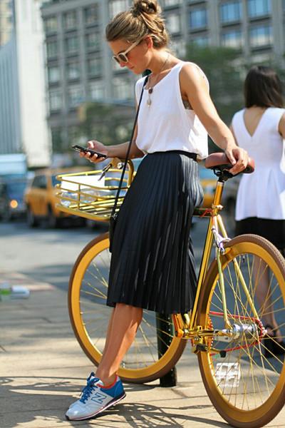 Inspiration kjol och cykel