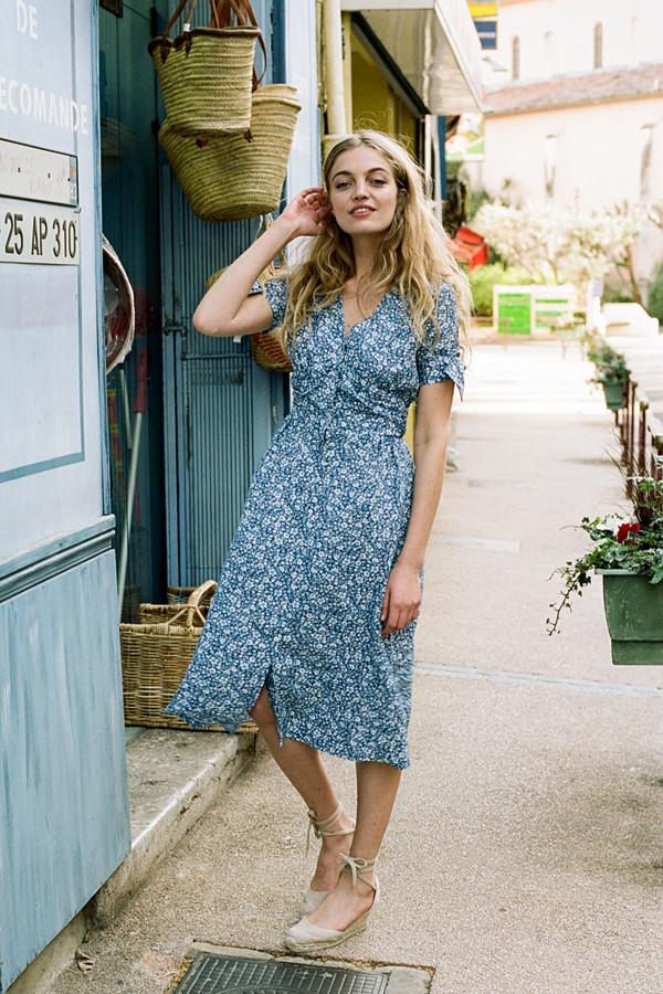 Inspiration blommig klänning