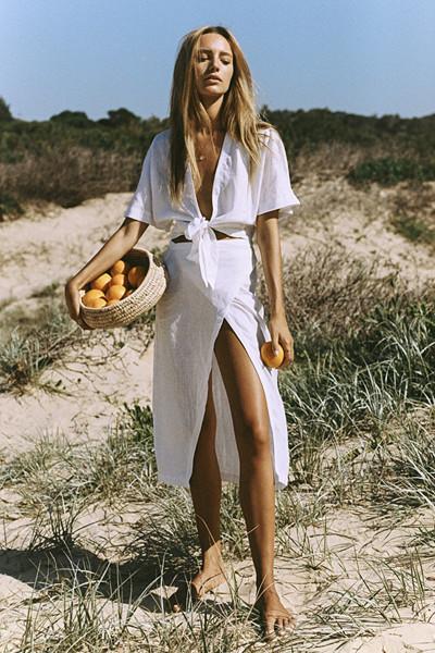 Inspiration vit klänning