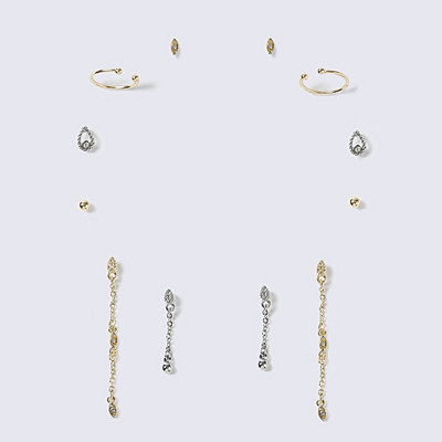 Gina Tricot 6-pack örhängen