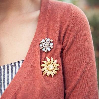 Inspiration pins på koftan