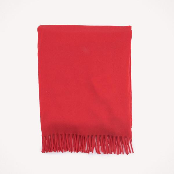 Samsøe & Samsøe scarf i lysande rött
