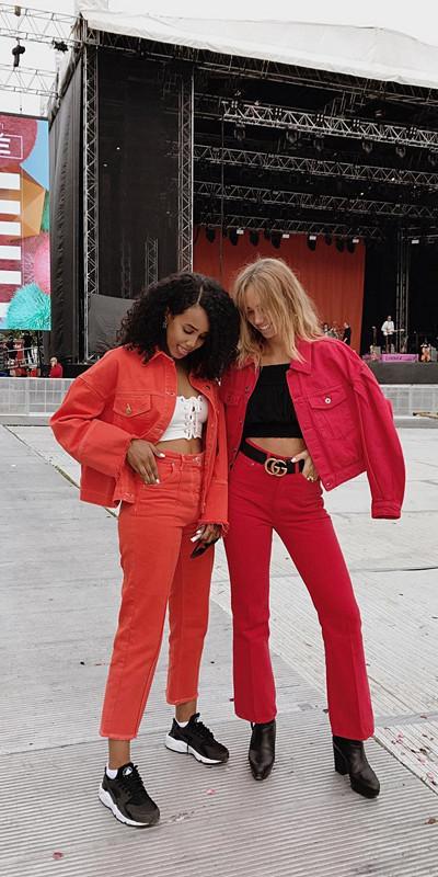 Monokrom outfit Salem Indrias & Lisa Olsson