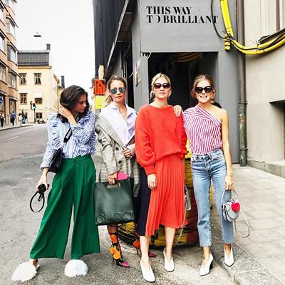 Tess, Line, Silje, Nina
