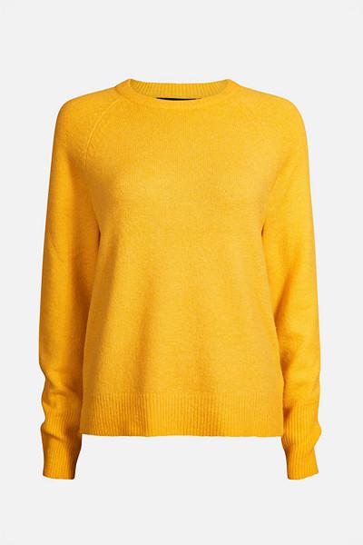 Bik Bok gul stickad tröja
