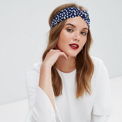Glamorous prickigt hårband