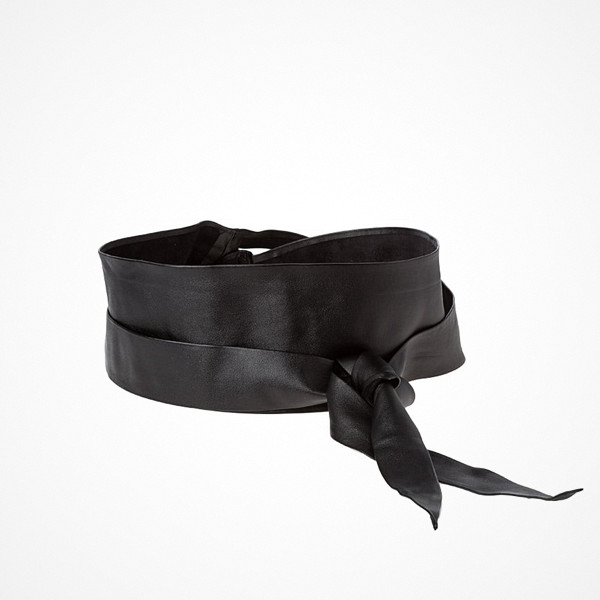 Sisley svart midjeskärp