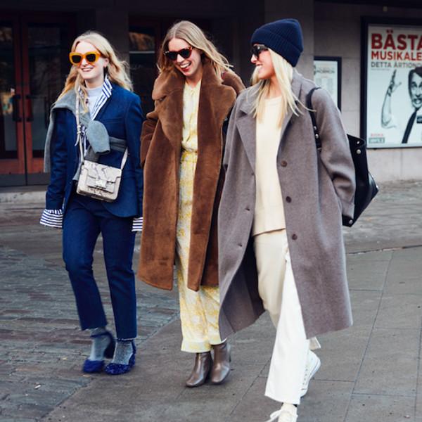 Inspiration street style en trio med stil