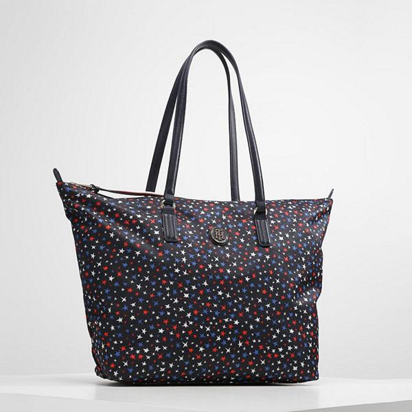 Tommy Hilfiger shoppingväska med stjärnmönster