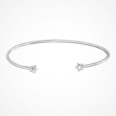 Ur&Penn armband i äkta silver med stjärnformade detaljer