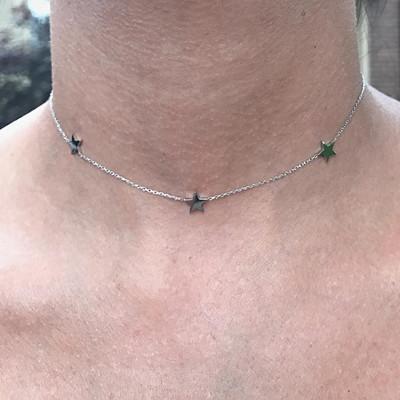 Inspiration halsband med stjärnor
