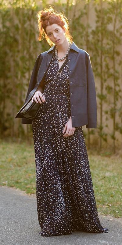 Inspiration stjärnmönstrad klänning