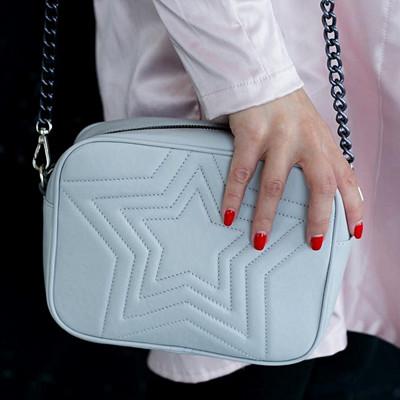 Inspiration väska med stjärnmönster