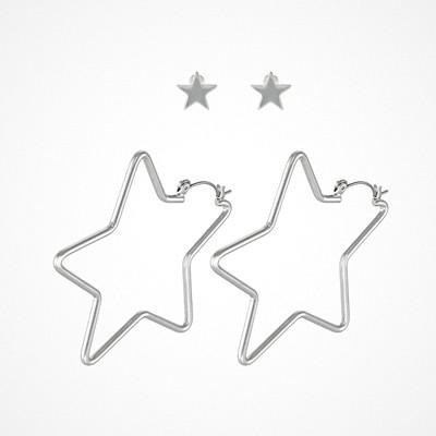 Missguided stjärnformade örhängen