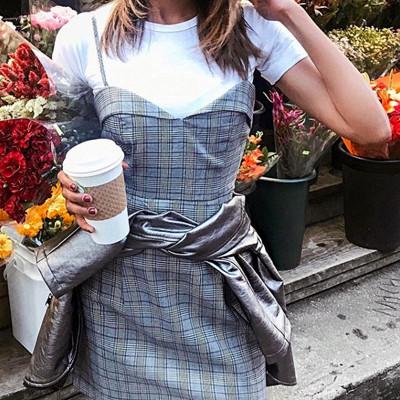 Inspiration rutig klänning
