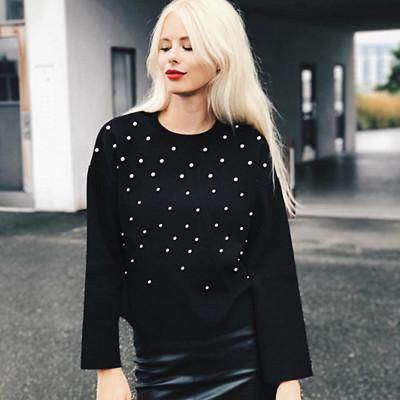 Inspiration tröja med pärlor
