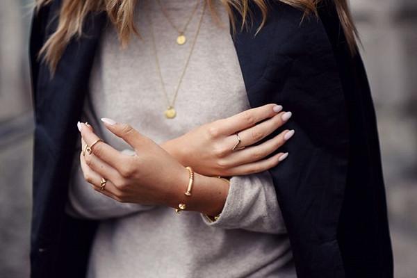 Inspiration minimalistiska smycken
