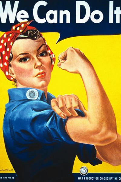 Rosie the Riveter halloween-inspiration