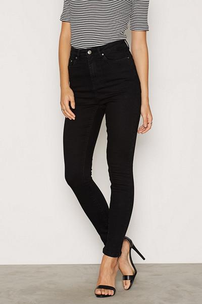 NLY Trend svarta superstretch skinny jeans
