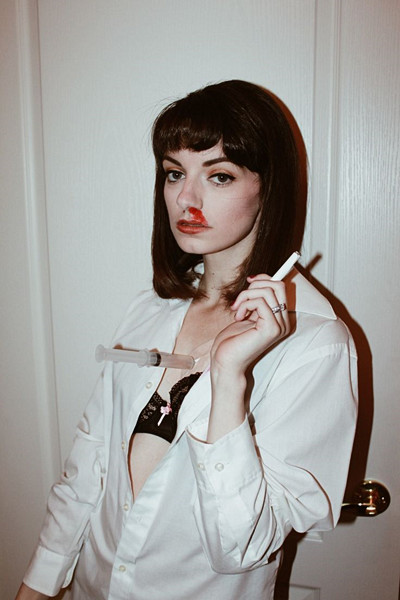 Mia Wallace halloween-inspiration