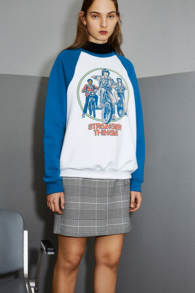 Topshop x Stranger Things Bike Sweatshirt