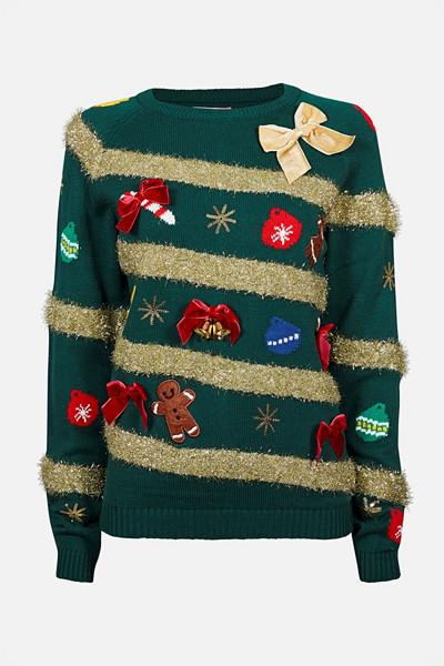 Cubus tröja med extra allt i julgransstuk