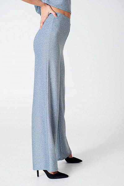 Hannalicious x NA-KD Glittery Pants