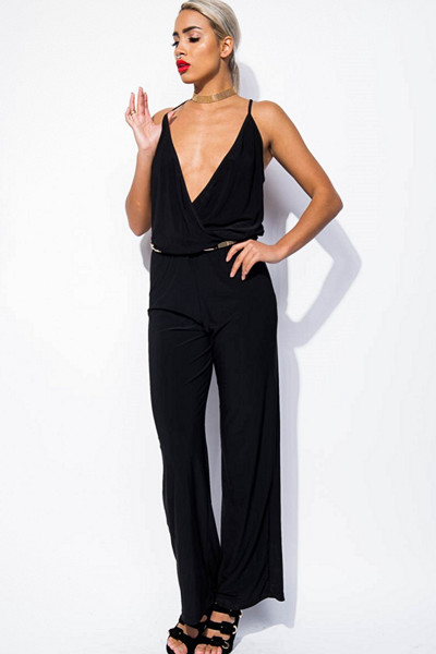 Sisters Point svart jumpsuit