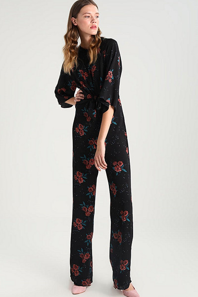 Fashion Union blommig jumpsuit