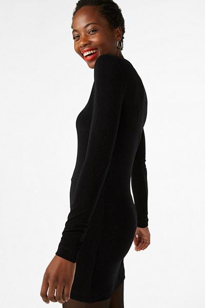 Monki svart klänning
