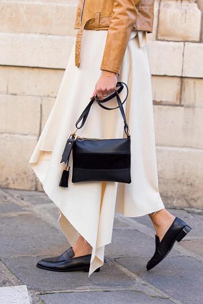 Glitter Aurie liten handväska