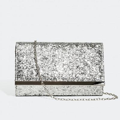 Glitter glittrig kuvertväska