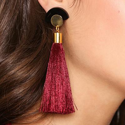 Susywan Deluxe tassel-örhängen