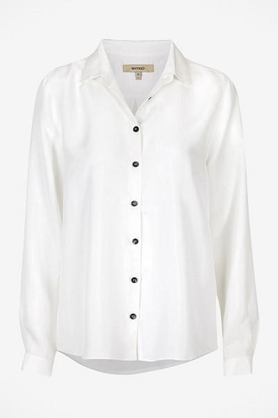 Whyred vit sidenskjorta